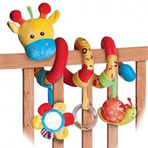 giraffa infanzia a spirale