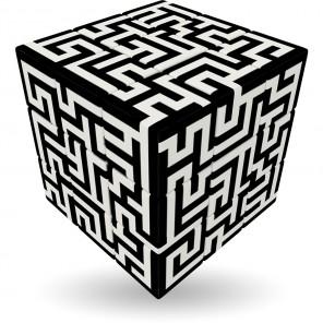 v-cube labirinto 3x3