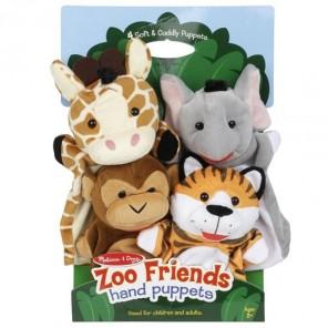 marionette animali amidi dello zoo