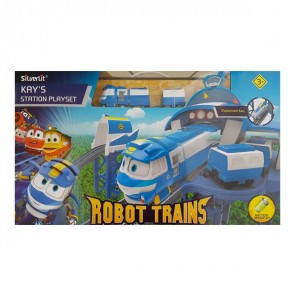 ROBOT TRAINS PLAYSET STAZIONE DI KAY
