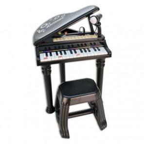 PIANO CON GAMBE E SGABELLO