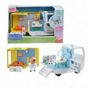 PEPPA PIG PLAYSET AMBULANZA