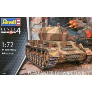 CARRO ARMATO FLAKPANZER IV KIT 1/72