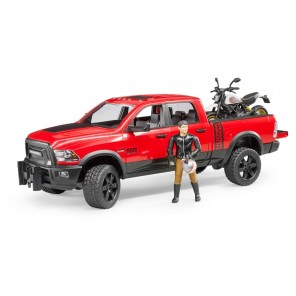 PICK UP RAM 2500 + MOTO