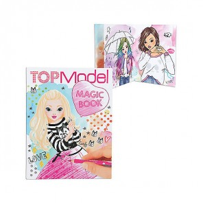 MAGIC BOOK COLORA LA TUA TOPMODEL