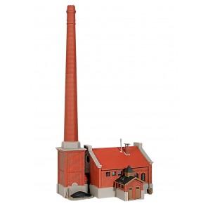 fabbrica con ciminiera