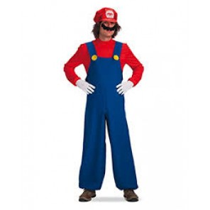 COSTUME MARIO ADULTO TG UNICA