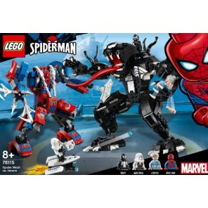SPIDERMAN MECH VS VENOM