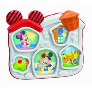 BABY MINNIE E MICKEY BASIC PUZZLE