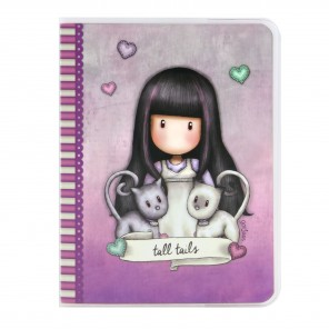 NOTEBOOK A6 TALL TAILS
