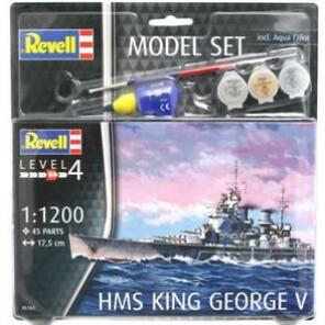 NAVE HMS KING GEORGE V STARTKIT 1/1200