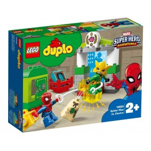 DUPLO SPIDER MAN VS ELECTRO