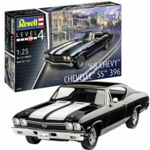 AUTO CHEVY CHEVELLE SS KIT 1/25