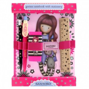 GORJUSS NOTEBOOK STATIONARY SET DREAMER