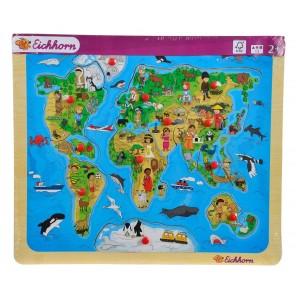 puzzle sagomato mondo