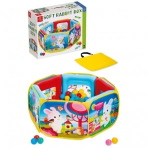 PISCINA PALLINE SOFT RABBIT BOX