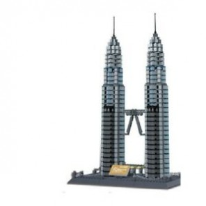 3D PUZZLE PETRONAS TOWERS