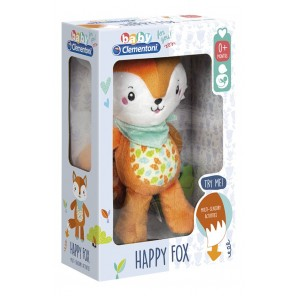 VOLPE HAPPY FOX ACTIVITY PLUSH
