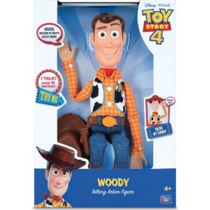 TOY STORY 4 WOODY PARLANTE 35CM