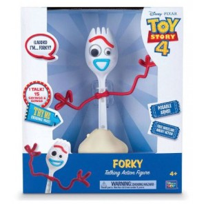 TOY STORY 4 FORKY PARLANTE 22CM