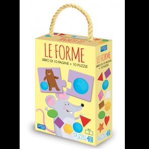 LIBRO + PUZZLE LE FORME