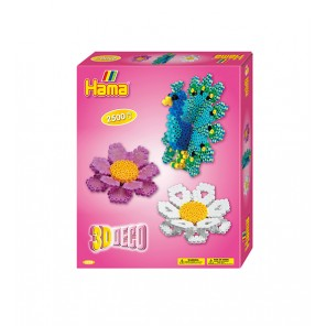 HAMA BEADS GIFT BOX DECORAZIONI 3D