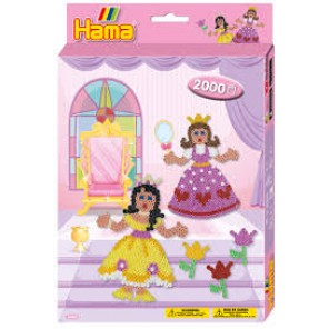 HAMA BEADS KIT PRINCIPESSE
