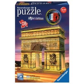 216PZ PUZZLE 3D ARCO DI TRIONFO NIGHT ED