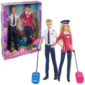 BARBIE E KEN PINK PASSPORT