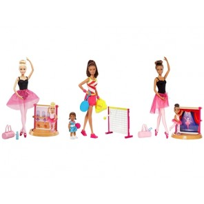 BARBIE SPORT PLAYSET ASS