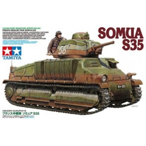 CARRO ARMATO SOMUA S35 KIT 1/35