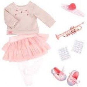 VESTITO FASHION NOTES MUSICAL OUTFIT