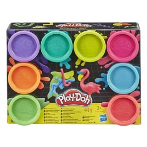 PLAY-DOH SET 8 BARATTOLI ASSORTITI