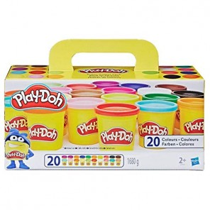 PLAY-DOH SUPER COLOR PACK 20 VASETTI