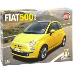 AUTO FIAT 500 2007 KIT 1/24