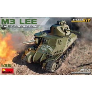 CARRO ARMATO M3 LEE EARLY KIT 1/35