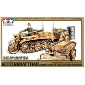 KETTENKRAFTRAD + GOLIATH KIT 1/48