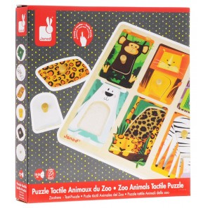 PUZZLE TATTILE ANIMALI DELLO ZOO