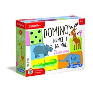 Domino numeri e animali