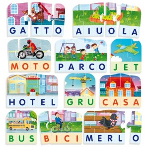 GIOCARE EDUCARE PRIME PAROLE LA CITTA'