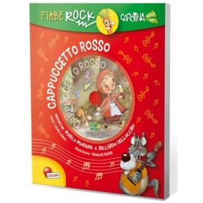 LIBRO FIABE ROCK CAPPUCCETTO ROSSO