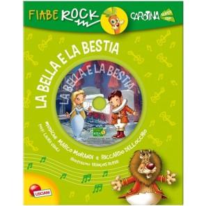 LIBRO FIABE ROCK LA BELLA E LA BESTIA
