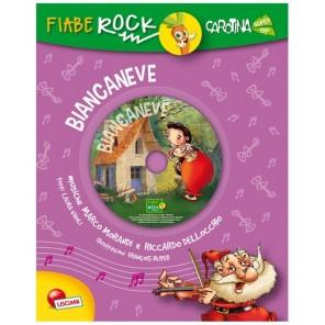 LIBRO FIABE ROCK BIANCANEVE