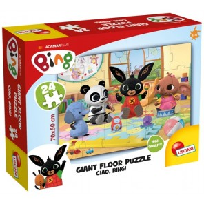 24 PZ GIANT FLOOR PUZZLE CIAO,BING!