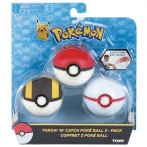 POKEBALL MORBIDE SET X 3