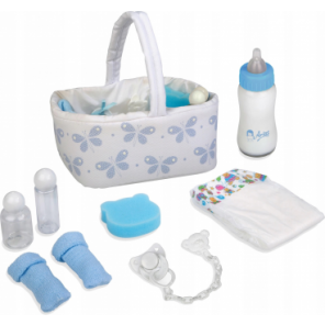 BEAUTY PER BEBE' AZZURRO CON ACCESSORI