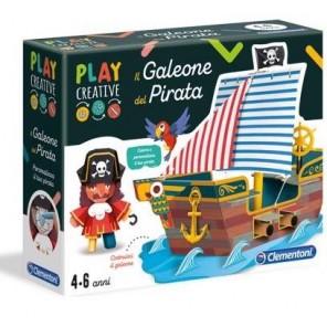 PLAY CREATIVE IL GALEONE DEI PIRATI