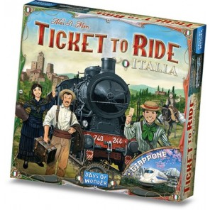 GIOCO TICKET TO RIDE ESP. ITALIA + GIAPP