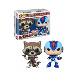 FUNKO POP ROCKET RACOON VS MEGA MAN X