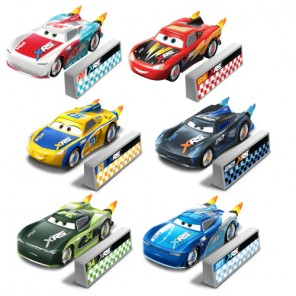 CARS XRS ROCKET RACERS DIE CAST ASS.